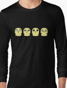 Gunter's Faces Long Sleeve T-Shirt