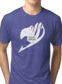 Fairies are Coming Tri-blend T-Shirt
