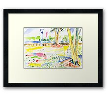 Rushcutters Bay Park Framed Print