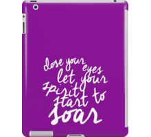 Music Of the Night quote  iPad Case/Skin