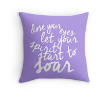 Music Of the Night quote  Throw Pillow