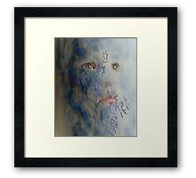 Sky Face  Framed Print