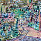 Riverwalk San Antonio by Vitali Komarov