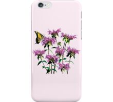 Tiger Swallowtail on Bee Balm iPhone Case/Skin
