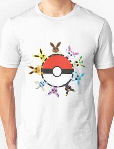 Eevee Evolution Ball T-Shirt