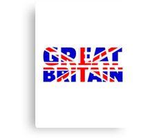 Great britain flag union jack Canvas Print