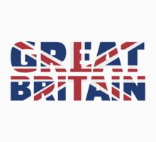 Great britain flag union jack Baby Tee