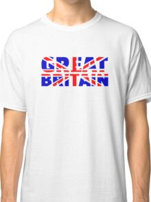 Great britain flag union jack Classic T-Shirt