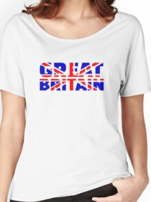 Great britain flag union jack Women's Relaxed Fit T-Shirt