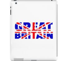 Great britain flag union jack iPad Case/Skin