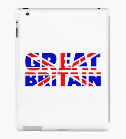 Great britain flag union jack iPad Case/Skin