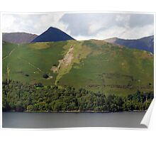 "UK: ""Mountain Layers"", Cumbria Poster"