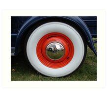 Got wheels? Art Print