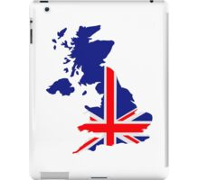 Great Britain UK map flag iPad Case/Skin