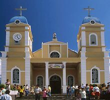 San Marcos Church, Tarrazu, Costa Rica by Guy Tschiderer