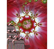 Christmas Background II Photographic Print
