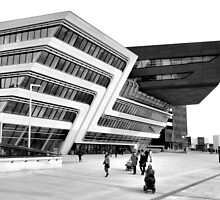 Zaha Hadid Library Center Vienna by Menega  Sabidussi