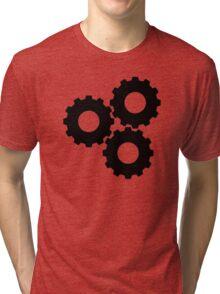 Gear wheels Tri-blend T-Shirt