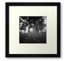 Wood House Framed Print