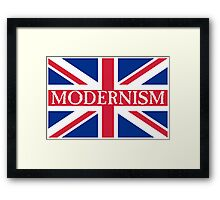 MODERNISM-UK Framed Print