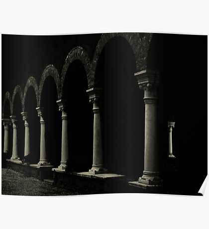 VENETIAN ARCHES Poster