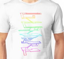 THE RAINBOW ROOMS Unisex T-Shirt