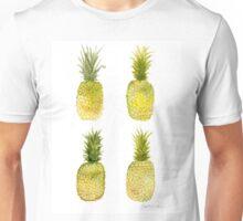 Four Mini Pineapples Unisex T-Shirt