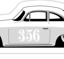 Porsche 356 Sticker