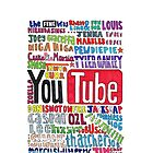Youtube Colored Collage by internetokay