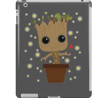 Groot with Rose/Fireflies iPad Case/Skin