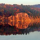 Early Morning Serenity George Lake by Debbie Oppermann