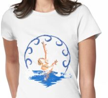 Swimming sirene  Womens Fitted T-Shirt
