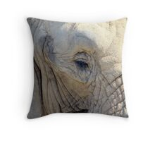 All wrinkled up Throw Pillow