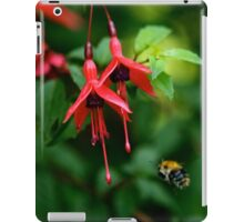 Wild Fuchsia at Loch Na Fooey (tall) iPad Case/Skin