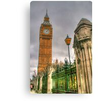 London ... Reaching For The Sky Canvas Print