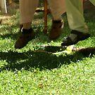 Jumping the broom by amberzimmerman