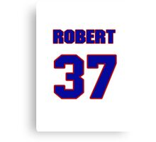 National baseball player Robert Ramsay jersey 37 Canvas Print