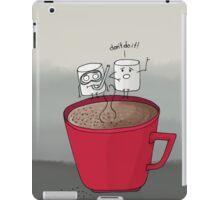 Marshmallow drama iPad Case/Skin