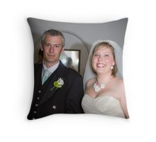 Mr and Mrs Sillence Throw Pillow