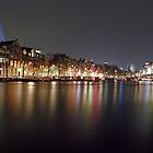 new year&#x27;s eve amsterdam by J.K. York
