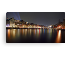 new year's eve amsterdam Canvas Print