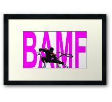 Nightcrawler Bamf Framed Print