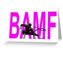 Nightcrawler Bamf Greeting Card