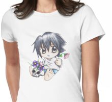 Flower Arranging Womens Fitted T-Shirt