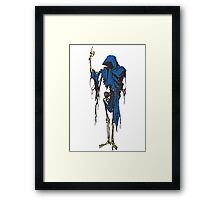 Deep Space Death. Framed Print
