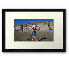 Action ! Framed Print