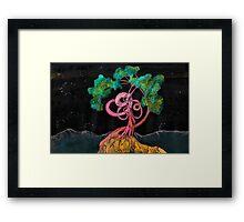 WDVMM - 151 - Tree and Wyrm 2 Framed Print