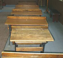 School desks by Gotcha  Photography