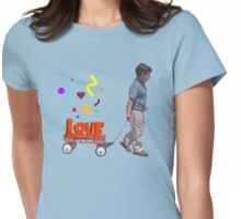 The Love Wagon Womens Fitted T-Shirt