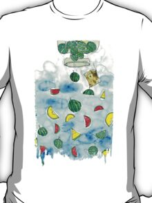 Why Watermelon Drop from Bottle? T-Shirt